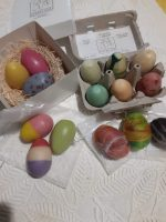 Egg soaps are available individually, in sets, or felted.