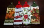 Kitchen Towels with knit tops